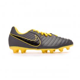 Botas fútbol Nike Tiempo Legend VII Club FG gris junior