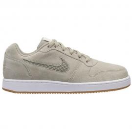 Zapatillas Nike Ebernon low premium gris mujer