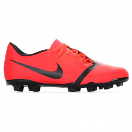 Botas fútbol Nike Phantom Venom Club Fg rojo junior