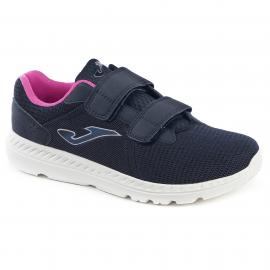 Zapatillas Joma C.Confort 903 velcro marino/rosa mujer