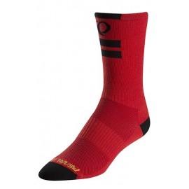 Calcetines altos Pearl Izumi Elite rojo