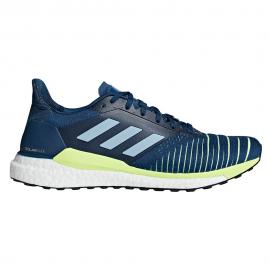 Zapatillas running adidas Solar Glide azul hombre