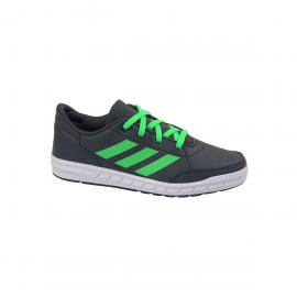Zapatillas adidas Altasport K gris/verde