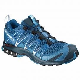 Zapatillas trail running Salomon Xa Pro 3D azul/claro hombre