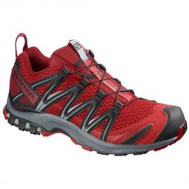 Zapatillas trail running Salomon Xa Pro 3D granate hombre