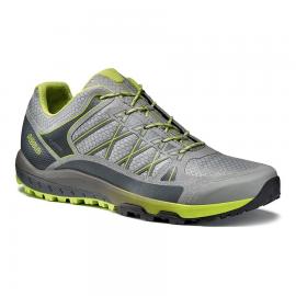 Zapatillas montaña Asolo Grid GV MM gris neon hombre