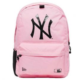 Mochila New Era MLB Stadium New York Yankees rosa/negra
