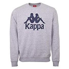 Sudadera Kappa Daift Logo gris hombre