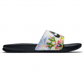 "Chancla Nike Benassi ""Just Do It.""  floral mujer"