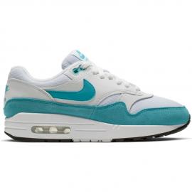 Zapatillas Nike Air Max 1 blanca/celeste mujer