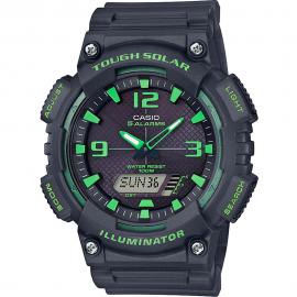 Reloj Casio Analógico digital AQ-S810W-8A3VEF negro/verde