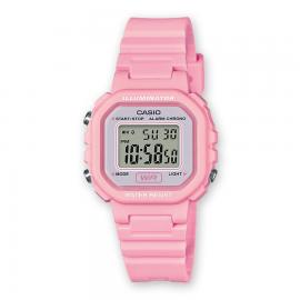 Reloj Casio Digital LA-20WH-4A1EF rosa mujer