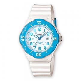 Reloj Casio Analogico LRW-200H-2BVEF blanco/azul mujer