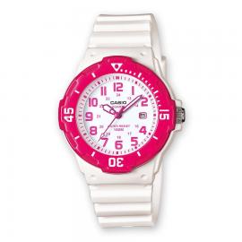 Reloj Casio Analogico LRW-200H-4BVEF blanco/rosa mujer