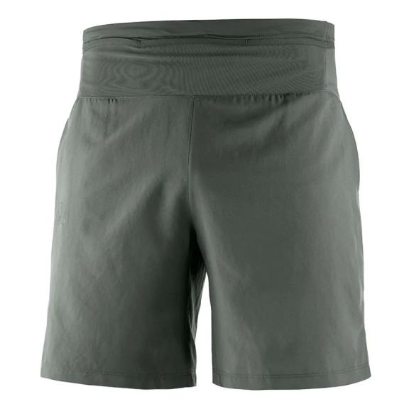 987d55e69e0 Pantalón corto running Salomon Xa Training verde hombre - Deportes Moya