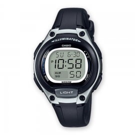 Reloj Casio Digital LW-203-1AVEF negro