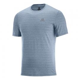 Camiseta trail running Salomon Xa Tee gris hombre