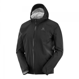 Chaqueta trail running Salomon Bonatti Wp negra