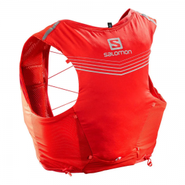 Mochila trail running Salomon Adv Skin 5 Set roja