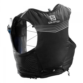 Mochila trail running Salomon Adv Skin 5 Set negra