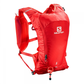 Mochila trail Salomon Agile 6 Set roja