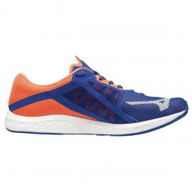 Zapatillas running Mizuno Wave Sonic 2 azul/naranja hombre