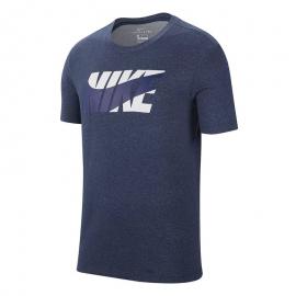 Camiseta Nike Dry DFC Nike Block marino hombre