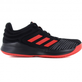 best authentic b9ed5 ae4b4 Zapatillas baloncesto Adidas Pro Spark 2018 low negro rojo h