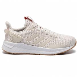 Zapatillas de running Adidas Questar Ride beige mujer