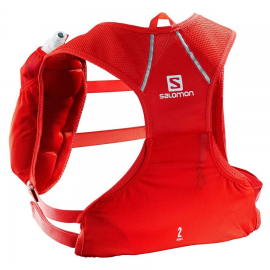 Mochila trail Salomon Agile 2 Set roja