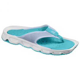 Chanclas descanso Salomon Rx Break 4.0 azul/blanco mujer