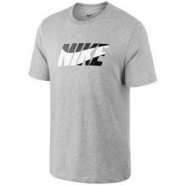 Camiseta Nike Dry DFC Nike Block gris hombre