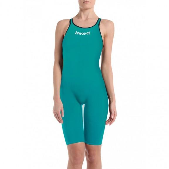 fbb8761ffb7b Bañador competición Jaked Jkatana verde esmeralda mujer - Deportes Moya