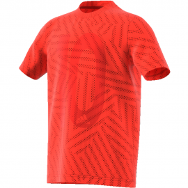 Camiseta adidas Messi Icon naranja niño