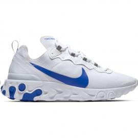 Zapatillas Nike React Element 55 SE blanca/azul hombre