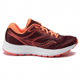 Zapatillas running Saucony Cohesion 12 granate mujer