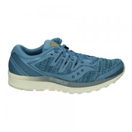 Zapatillas running Saucony Guide Iso azul mujer