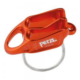 Asegurador/descensor Petzl Reverso 4 naranja