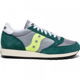 Zapatillas Saucony Jazz O Vintage verde/gris/fluor hombre