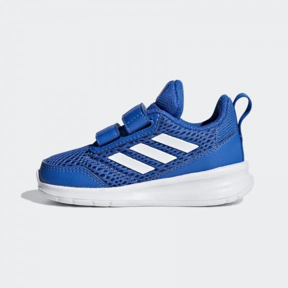 39432d276 Zapatillas Adidas AltaRun CF I azul blanco bebé - Deportes Moya