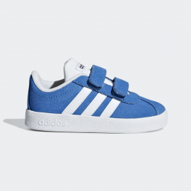 Zapatillas Adidas VL Court 2.0 CMF I royal/blanco bebé