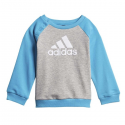Chándal adidas Logo Jogg FT celeste/gris/blanco bebé