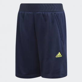 Pantalón adidas Messi Shorts azul niño