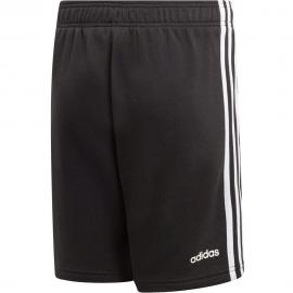 Pantalón adidas Essential 3S KN SH negro/blanco niño