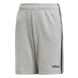 Pantalón adidas Essential 3S KN SH gris/negro niño