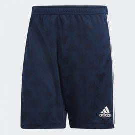 Pantalón fútbol adidas Tan Jaquard azul hombre