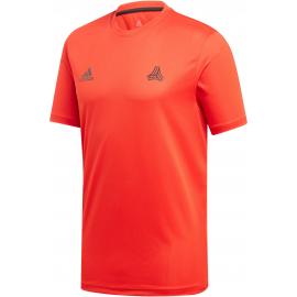 Camiseta adidas TAN Training Jersey rojo/negro hombre