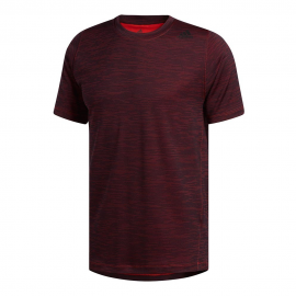 Camiseta adidas Freelift Tech Fitted burdeos hombre