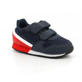 Zapatillas Le Coq Sportif Alpha II INF Sport azul/rojo bebé