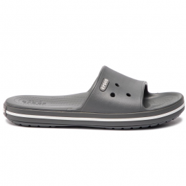 Chanclas Crocs Crocband III Slide U gris/blanco